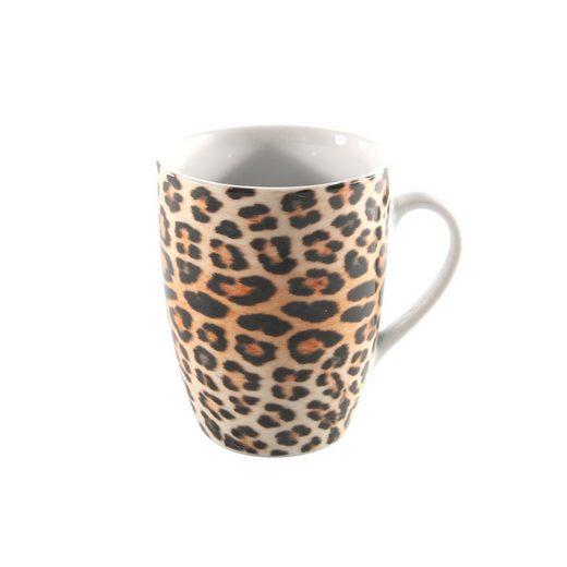 Neuetischkultur Tasse »Kaffeetasse Leopard« (1-tlg), Porzellan