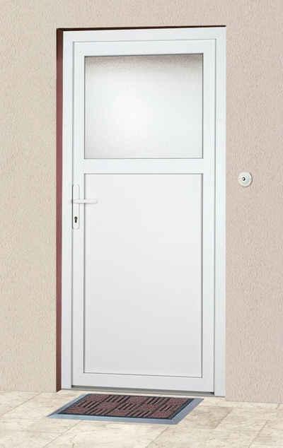 KM Zaun Haustür »K601P«, BxH: 88 x 198 cm, weiß, in 2 Varianten