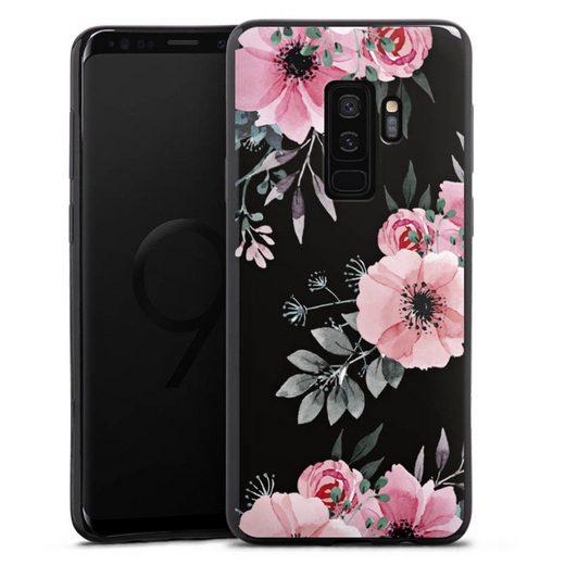 DeinDesign Handyhülle »Blumen rosa ohne Hintergrund« Samsung Galaxy S9 Plus, Hülle Blume transparent Blumen
