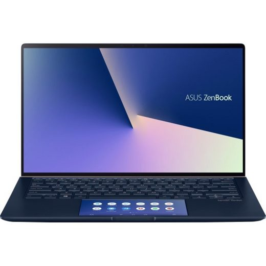 Asus ZenBook 14 (UX434FQ-A5020R) Notebook 8GB/512GB SSD/2GB NVIDIA MX350/Core i5 Notebook (35,6 cm/14 Zoll, Intel Core i5, GeForce MX350, 512 GB SSD)