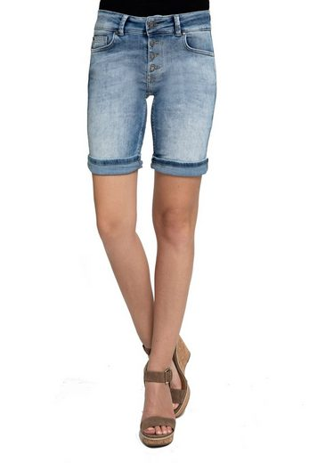 Zhrill Jeansshorts »Estelle Shorts« Zhrill Damen Shorts Jeans 5 Pocket Vintage Slim Fit Estelle