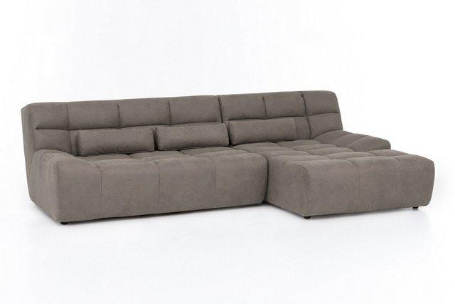 Sofas - KAWOLA Sofa »SETO«, Big Sofa Microfaser Recamiere wählbar versch. Farben  - Onlineshop OTTO