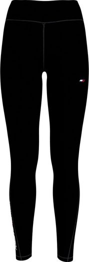 Tommy Hilfiger Sport Leggings »RW GRAPHIC LEGGING« mit Tommy Hilfiger Logo-Flag