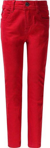 vertbaudet Jeansshorts »Jeanshose für Mädchen, Slim Fit«