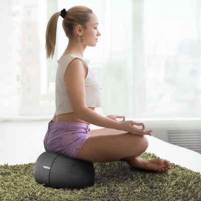 Body & Mind Meditationskissen »Fitness Yogakissen«, Boden Sitz-Kissen Polster für Meditation & Yoga