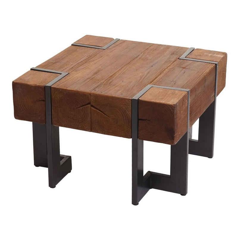 MCW Couchtisch »MCW-A15-C«, Inklusive Fußbodenschoner, Standfeste Konstruktion, Industrial Look, quadratisch