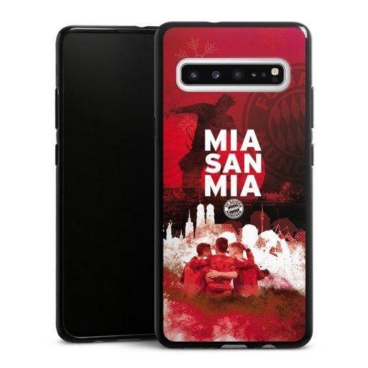 DeinDesign Handyhülle »FCB - MIA SAN MIA« Samsung Galaxy S10 5G, Hülle FCB Mia San Mia FC Bayern München