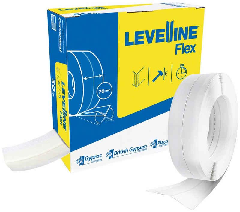 Rigips Flexprofil »Levelline«, flexibler Kantenschutz, 70mm x 30m