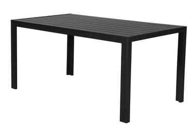 ebuy24 Gartentisch »Cult Gartentisch, 150 cm schwarz/schwarz.«