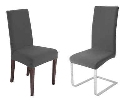 Stuhlhusse »Universal Stretch Stuhlhussen Sets von Beautex, elastische Husse Bi-Elastic, Venezia, Farbe wählbar«, Beautex