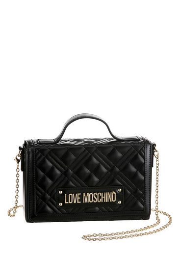 LOVE MOSCHINO Mini Bag, mit goldfarbener Umhängekette