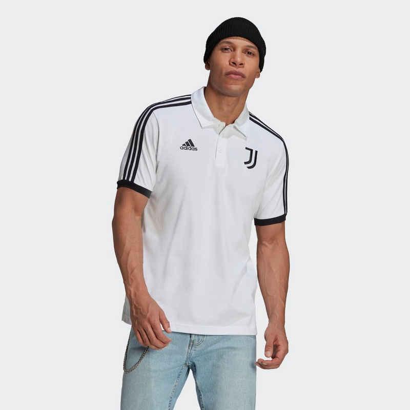 adidas Performance Poloshirt »Juventus Turin 3-Streifen Poloshirt«