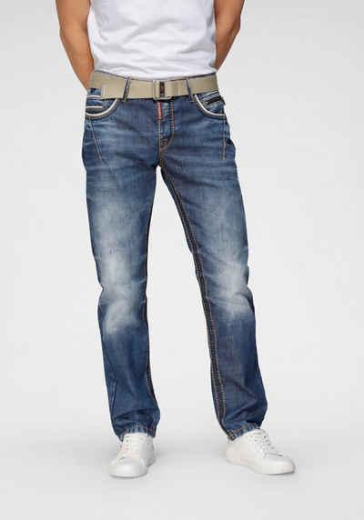 Cipo & Baxx Straight-Jeans