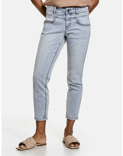 Taifun Stretch-Jeans »7/8 Jeans Skinny TS« (1-tlg) Schmale Hose