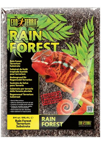 Exo Terra Terrarien-Substrat »Rain Forest« 264 l...