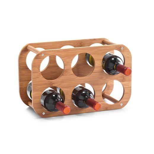 HTI-Living Weinregal »Weinregal für 6 Flaschen Bambus«