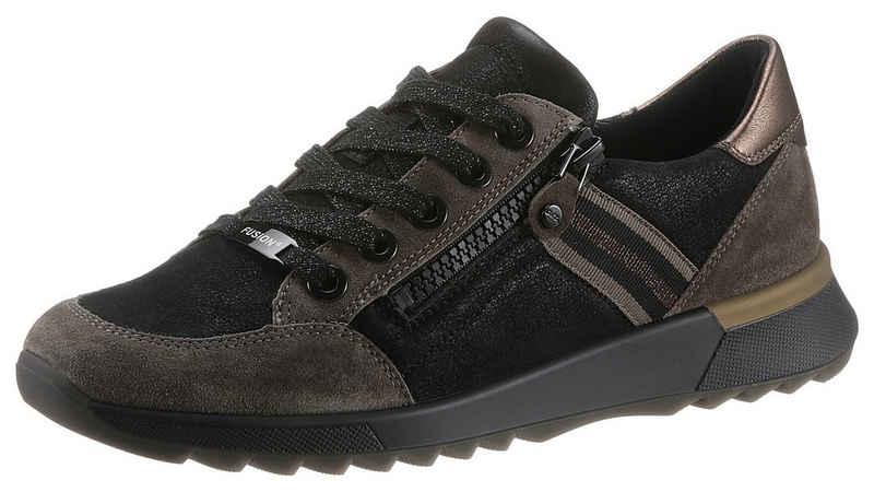 Ara »VENICE« Wedgesneaker mit Metallic-Besatz