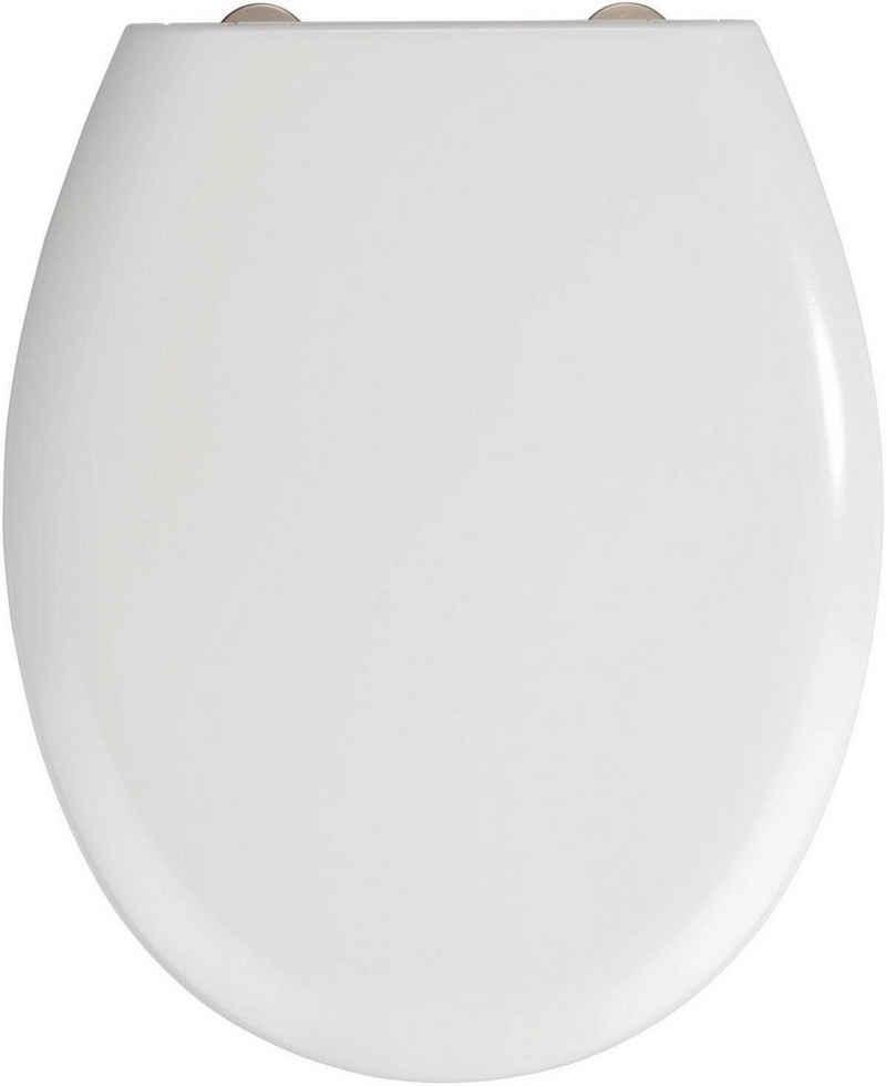 WENKO WC-Sitz »Rieti«, Duroplast, mit Absenkautomatik