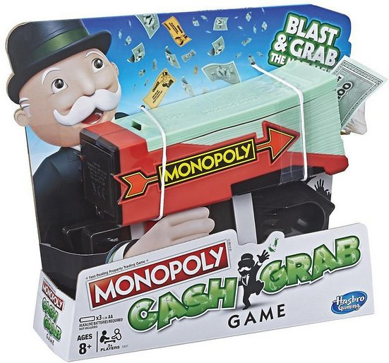 Hasbro Spiel, »Aktionsspiel Monopoly Cash Grab«