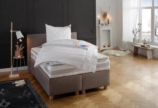 Topper »Mabona TKS«, fan Schlafkomfort Exklusiv, 7 cm hoch, Kundenliebling! Mit Sommer- und Winterseite!