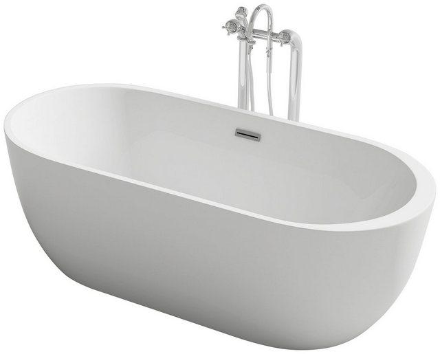 Badewannen und Whirlpools - HOME DELUXE Badewanne »Rom«, (3 tlg), B 170 cm, freistehend  - Onlineshop OTTO