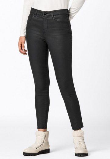HALLHUBER Slim-fit-Jeans »MIA mit Coating«