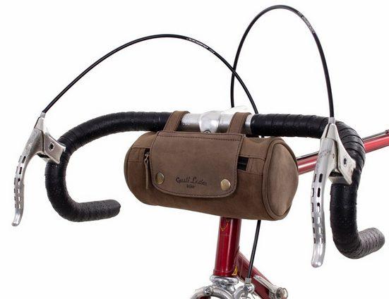 Gusti Leder Lenkertasche »Judith A.«, Gepäckträgertasche Fahrradschloss Fahrradtsache Ledertasche Fahrrad