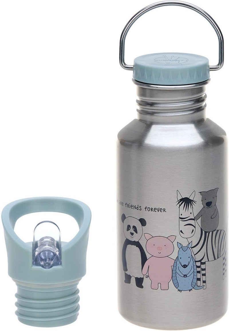 LÄSSIG Trinkflasche »About Friends, blue«