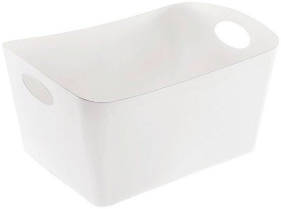 KOZIOL Aufbewahrungsbox »BOXXX L« (1 Stück), spülmaschinengeeignet, 15 L