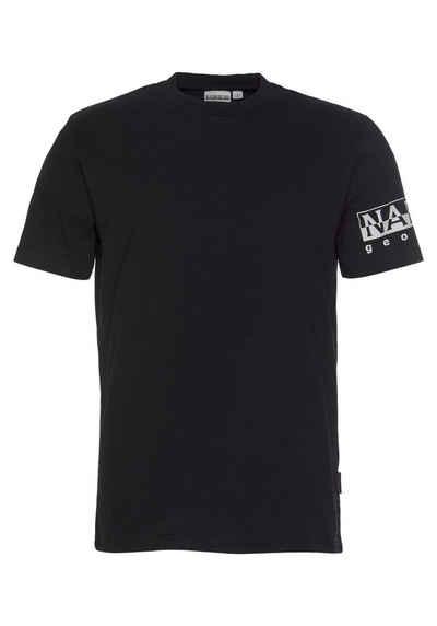 Napapijri T-Shirt »SADAS SS« mit Logoprint