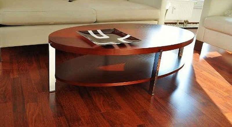 carl svensson Couchtisch »Design Couchtisch Tisch O-111 Kirschbaum Kirsche oval Carl Svensson 118x60x33,5cm«
