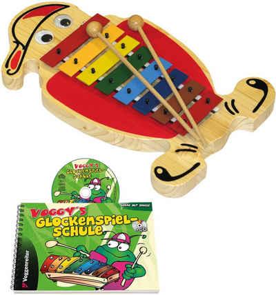 Voggenreiter Spielzeug-Musikinstrument »Voggys Glockenspiel-Set«, Made in Europe