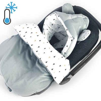 BABEES Fußsack »Babyfußsack Babyschale Fußsack Baby Einschlagdecke«