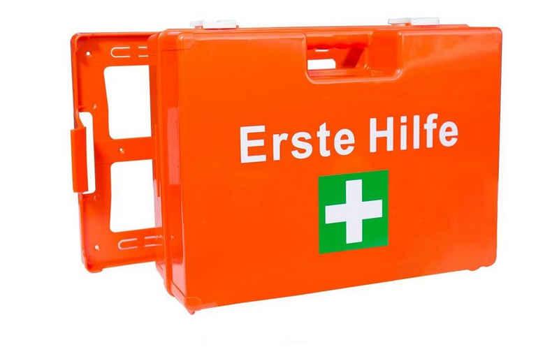 Steelboxx Arzttasche »Verbandskasten Erste Hilfe Koffer DIN13157 Verband« (Spar Set, 1-tlg), Maßgeschneiderte Sicherheit für Ihren Betrieb und Zuhause nach neuer DIN 13157