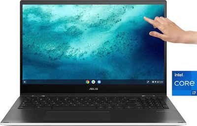 Asus CX5500FEA-E60012 Notebook (39,62 cm/15,6 Zoll, Intel Core i7 1165G7, UHD Graphics, 512 GB SSD, Kostenloses Upgrade auf Windows 11, sobald verfügbar)