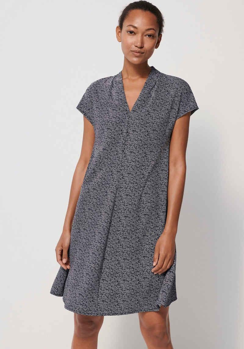 someday A-Linien-Kleid »Qali« mit Streifen-Print