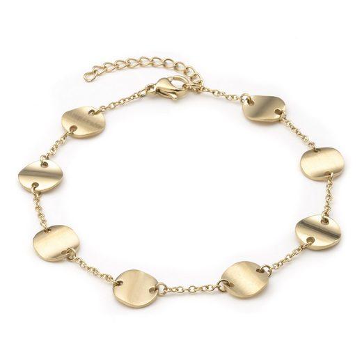 Heideman Armband »Fluctus vergoldet«, Armband mit Verlängerungskette