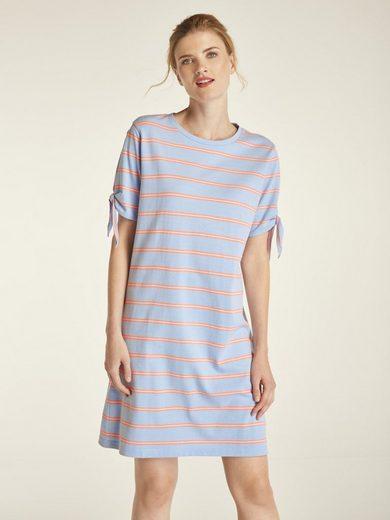 heine CASUAL Jerseykleid mit Ärmel zum Binden | OTTO