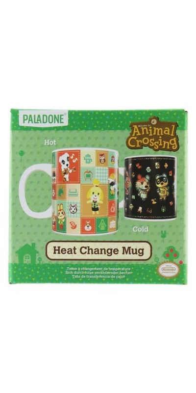 Paladone Tasse »Animal Crossing Thermoeffekt Tasse«, Porzellan