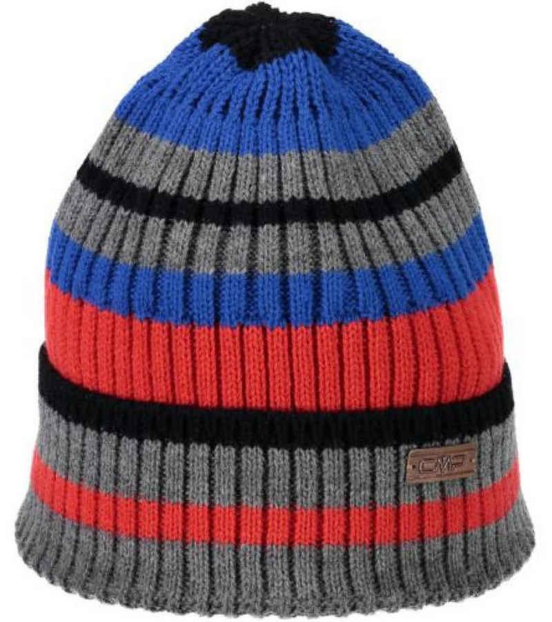 CAMPAGNOLO Strickmütze »Campagnolo Strick-Mütze gestreifte Herren Winter-Mütze mit CMP-Logo Beanie Bunt«