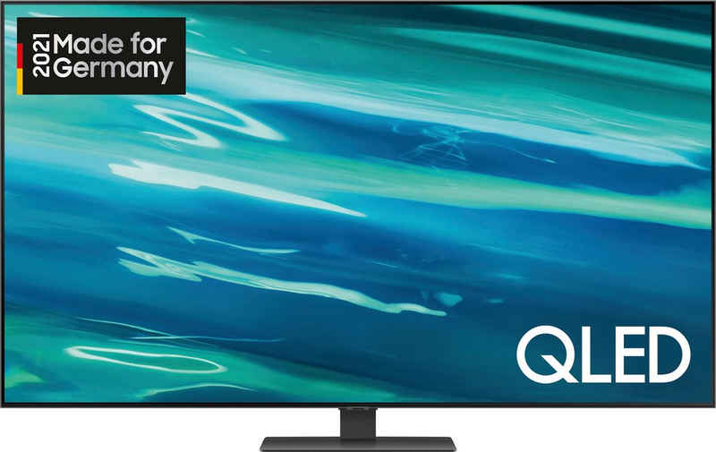 Samsung GQ65Q80AAT QLED-Fernseher (163 cm/65 Zoll, 4K Ultra HD, Smart-TV)