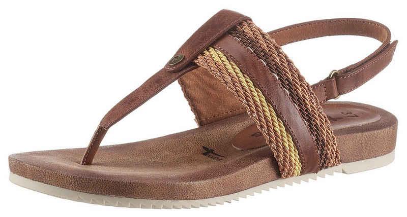 Tamaris »LOCUST« Sandale mit weichem Zehensteg