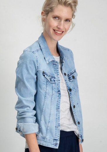 Garcia Jeansjacke »Sofia« mit RADYGO Smart-Tasche, Schutz vor Handystrahlen