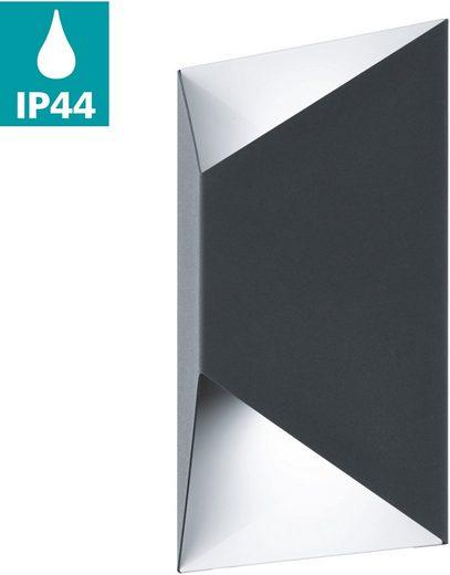 EGLO LED Außen-Wandleuchte »Predazzo«, Eckmontage möglich, LED tauschbar