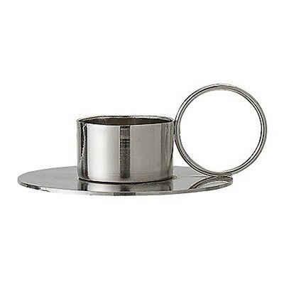 Bloomingville Kerzenhalter »Bloomingville Votive Kerzenhalter silber mit Ring«