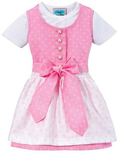 Turi Landhaus Dirndl (3-tlg) Baby, mit Jerseyshirt