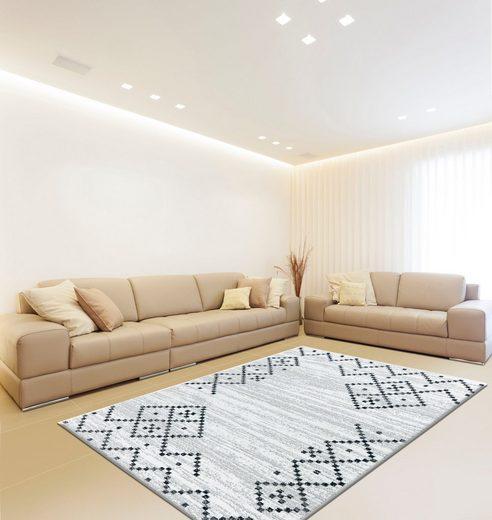 Teppich »Cataley-307«, calo-deluxe, rechteckig, Höhe 12 mm