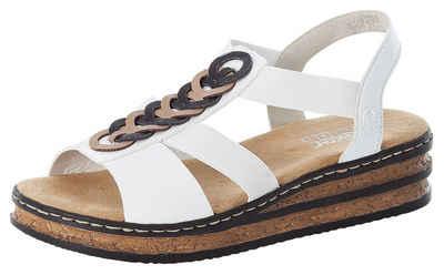 Rieker Sandalette mit weich gepolsterter Innensohle