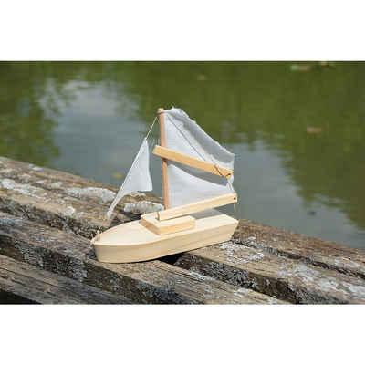 EDUPLAY Holzbaukasten »Holzbausatz Segelschiff«