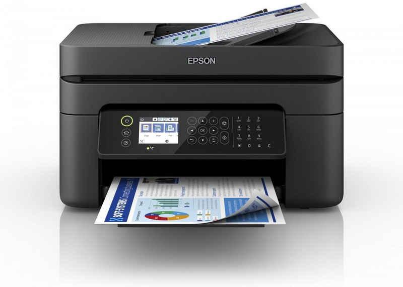 Epson WF-2850DWF Multifunktionsdrucker, (WLAN (Wi-Fi), Wi-Fi Direct, Tintenstrahldrucker, 4-in-1, Fax, Scanner, Kopierer, WLAN, ADF)
